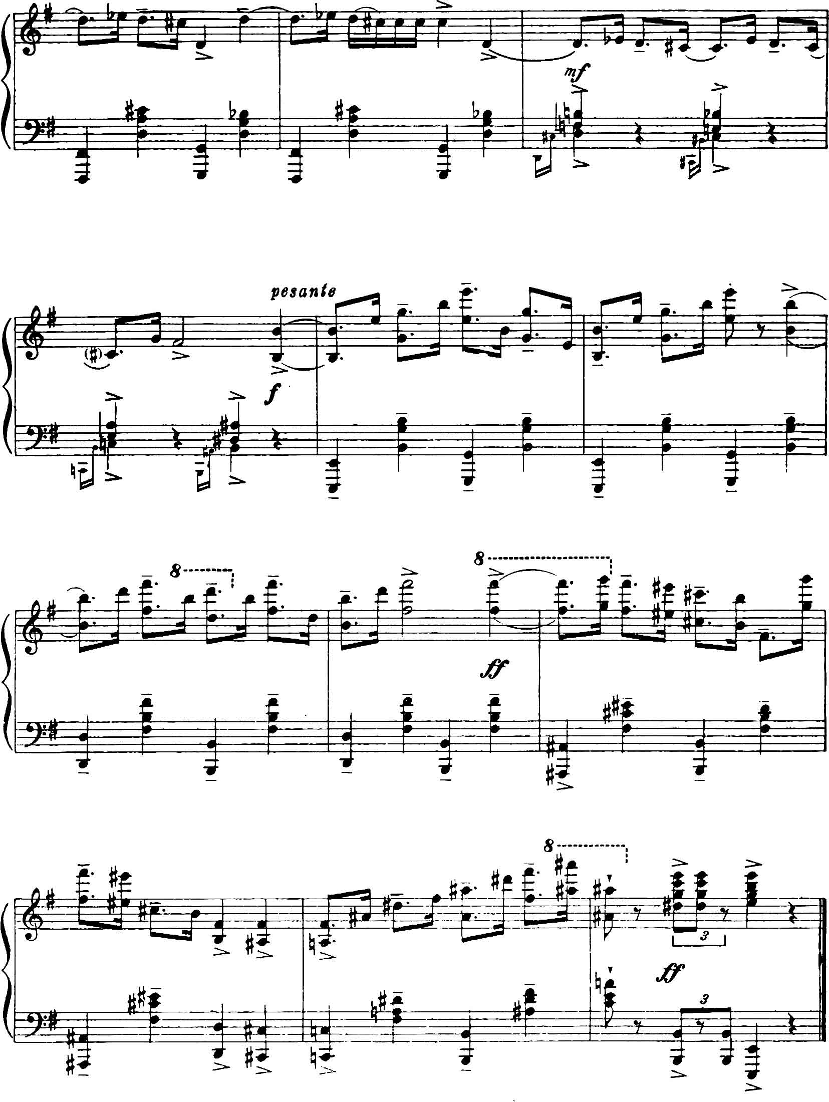 prokofiev montagues and capulets