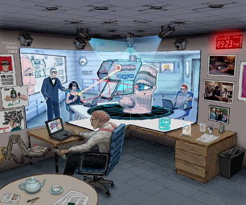 Office of the Future : Artist Sketch by Andrei State