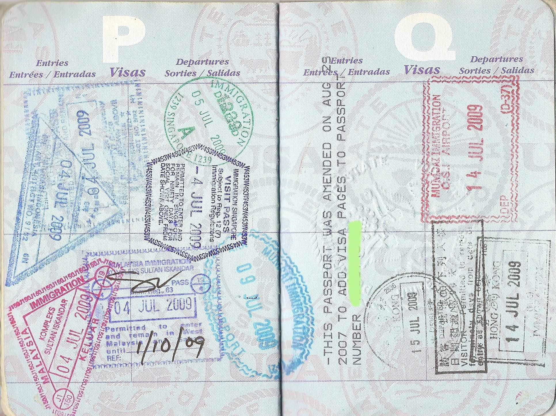 Rob Reilly S Passport Pages