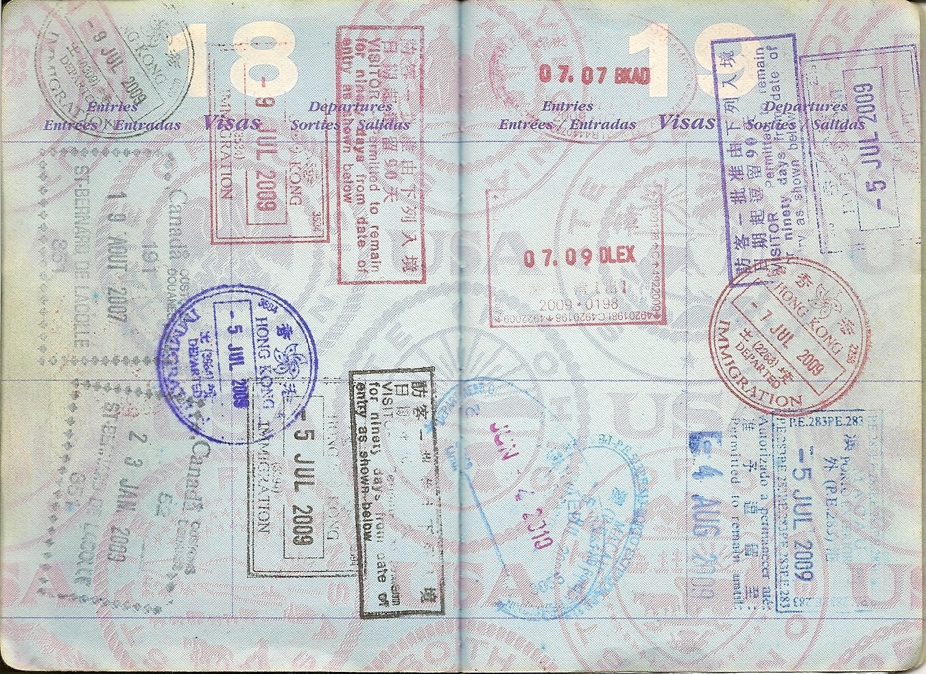 Canadian Passport Page | www.imgkid.com - The Image Kid ...
