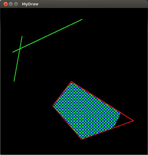 Line Drawing Algorithm Using Opengl : Non research projects